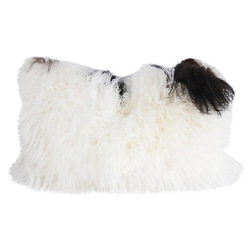 Tibetan Lambswool Lumbar Pillow