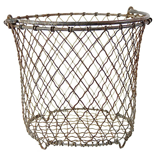 French Wire Oyster Bucket
