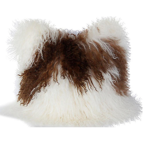 Tibetan Curly Lamb Pillow