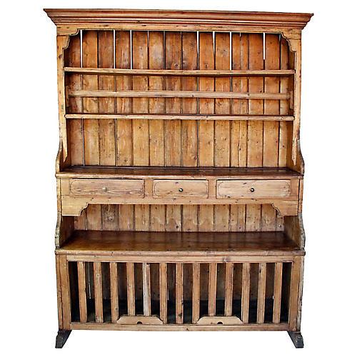 """Pine """"Chicken Coop"""" Dresser"""