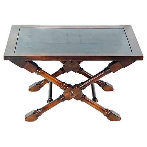 Table w/ Slate Insert