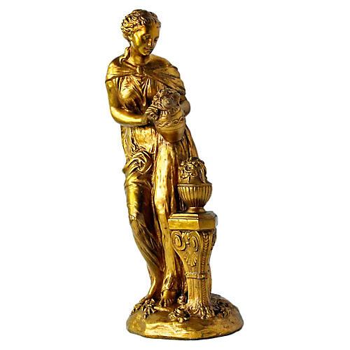 Italian Gilt Figurine