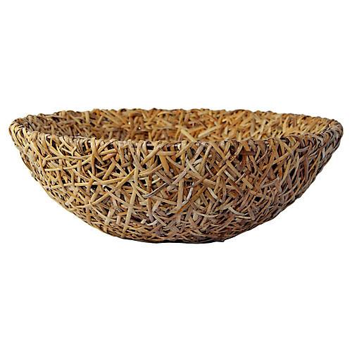 """Oversize 24"""" Bamboo Bowl"""