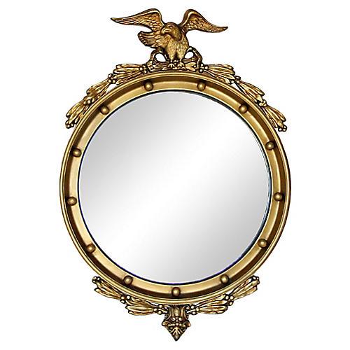 Federal Eagle Gold Giltwood Mirror