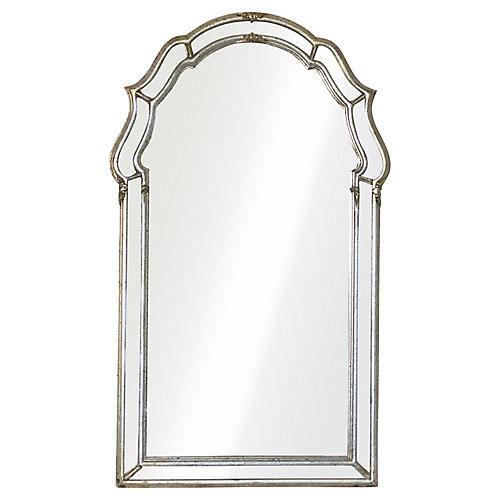 Venetian Style Giltwood Wall Mirror