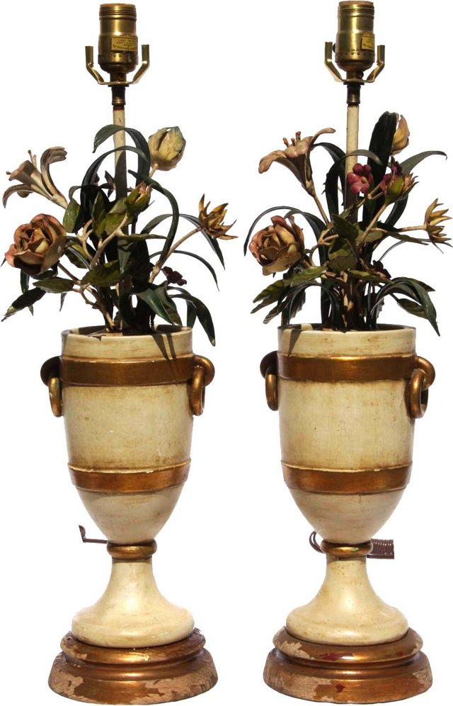 Marbro Lamps, Pair