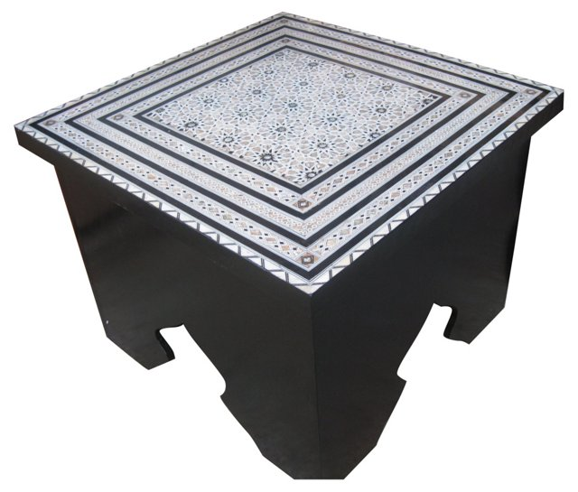Moroccan Mother-of-Pearl Table