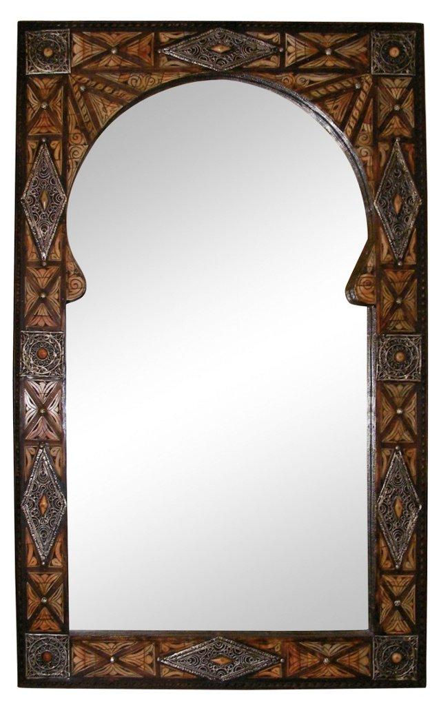 Moroccan Door Frame Mirror