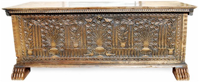 Large 18th-C. Cypriot Chest