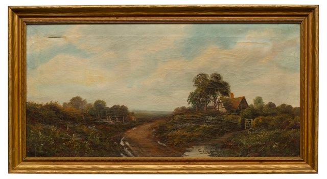 Cottage by Roadside