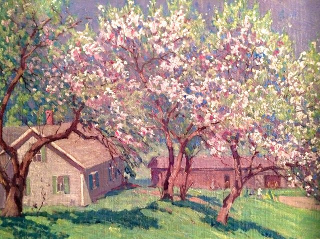 Spring Landscape, Gustave Cimiotti