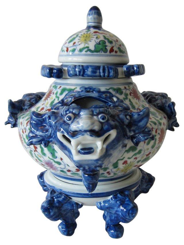 Asian Vase, 4 Pcs