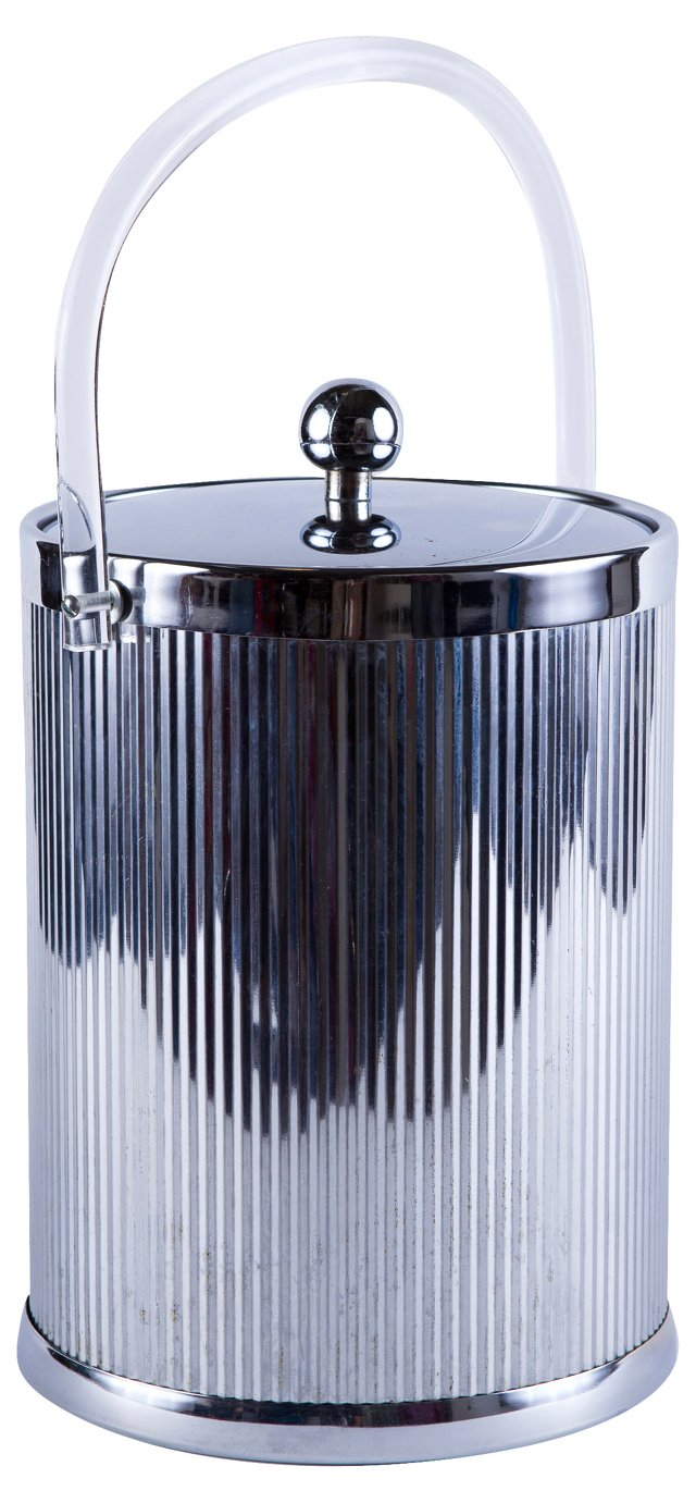 Chrome Disco Ice Bucket