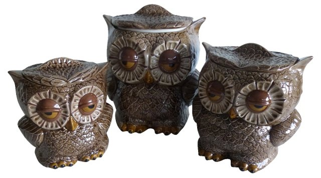 Owl Canisters, S/3