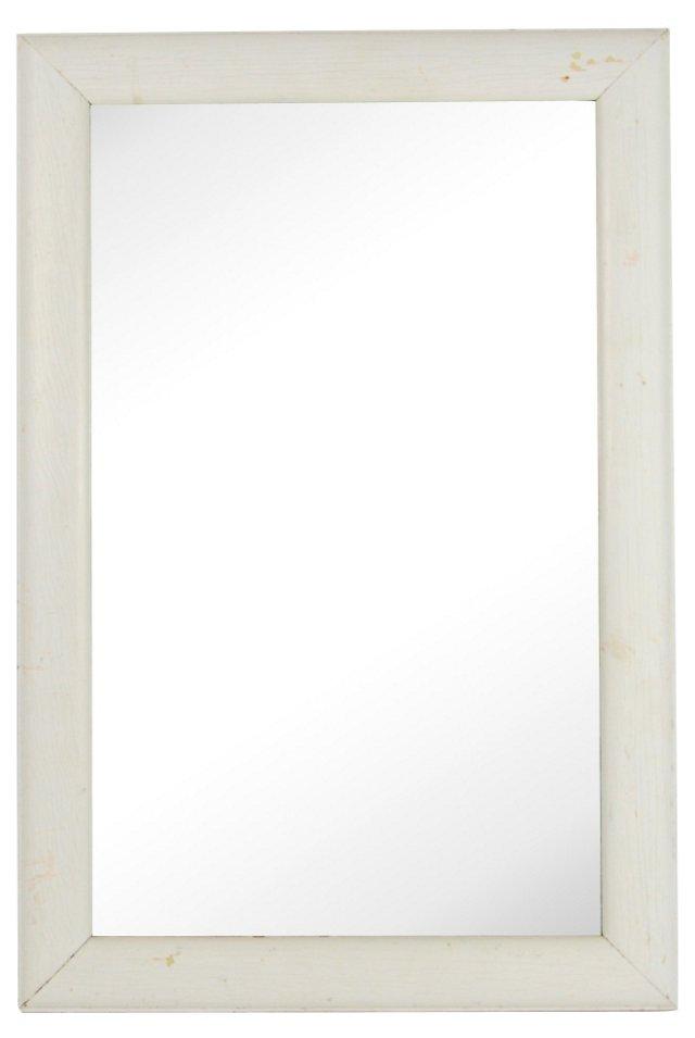White Rectangular Mirror