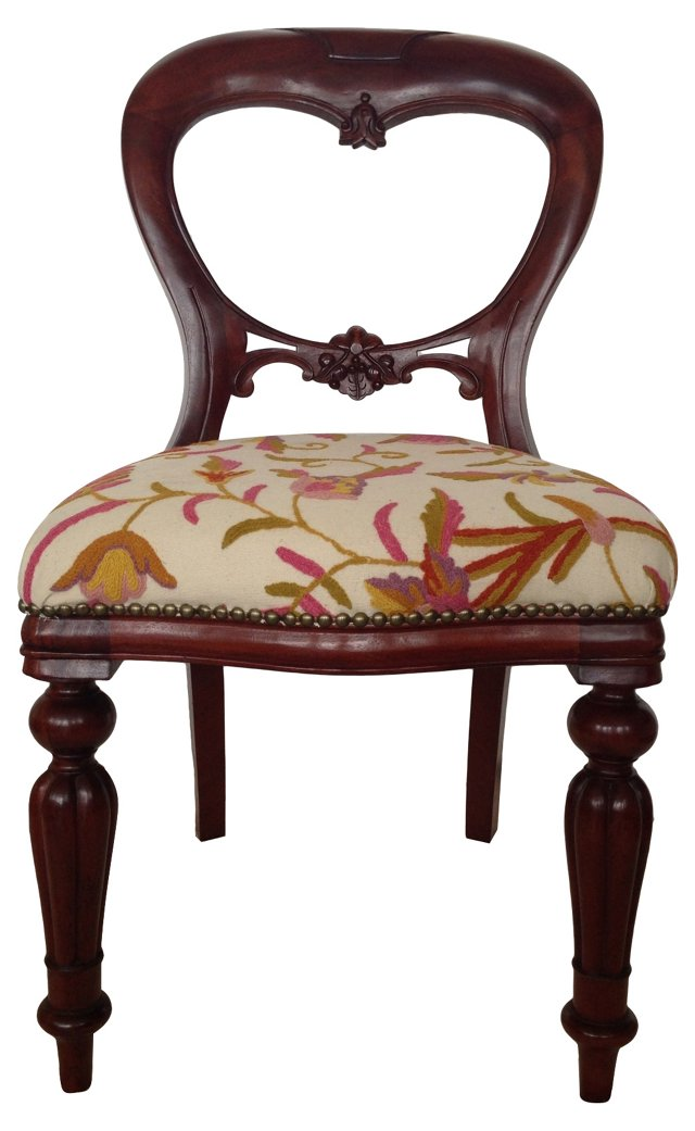 English Rosewood Dining Chair