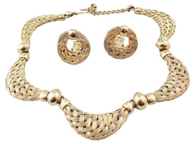 Napier Doris Day Necklace & Earrings