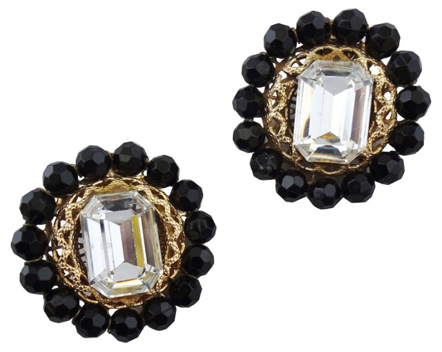 Lawrence Vrba Beaded Earrings