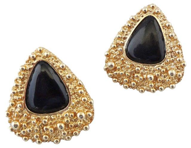 Napier Modernist Earrings, 1973