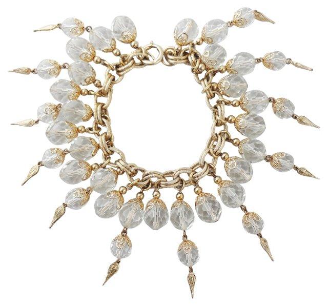 1950s Napier Crystal Bracelet