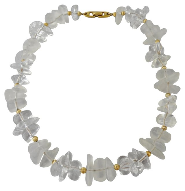 Napier Crystal Ice Necklace