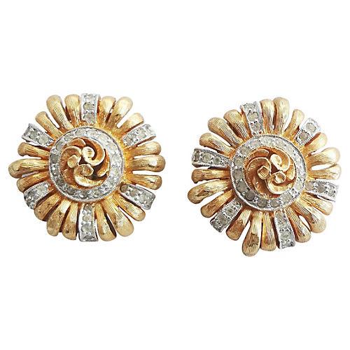 Jomaz Paste Raised Center Earrings