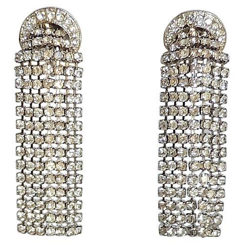 1960s Napier Chandelier Earrings