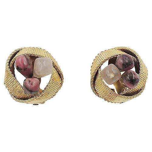 Grosse Rhinestone Earrings, 1966