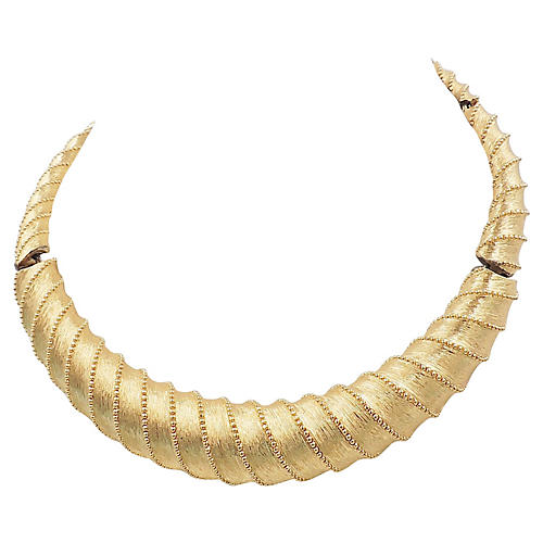 1960s Monet Collar Necklace