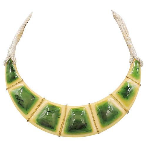 1970s Valentino Modernist Necklace