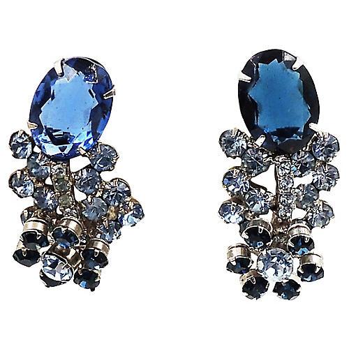 Delizza & Elster Rhinestone Earrings