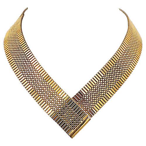 Napier V-Shape Necklace, 1980