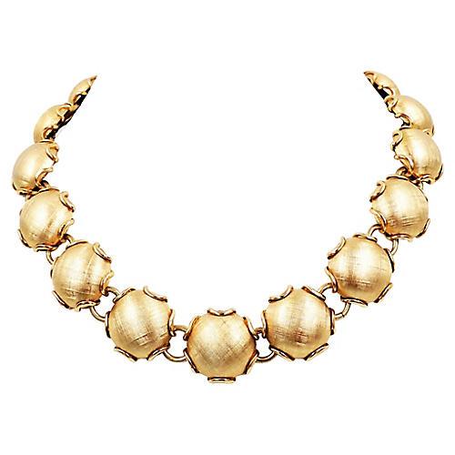 1950s Napier Florentine Finish Necklace