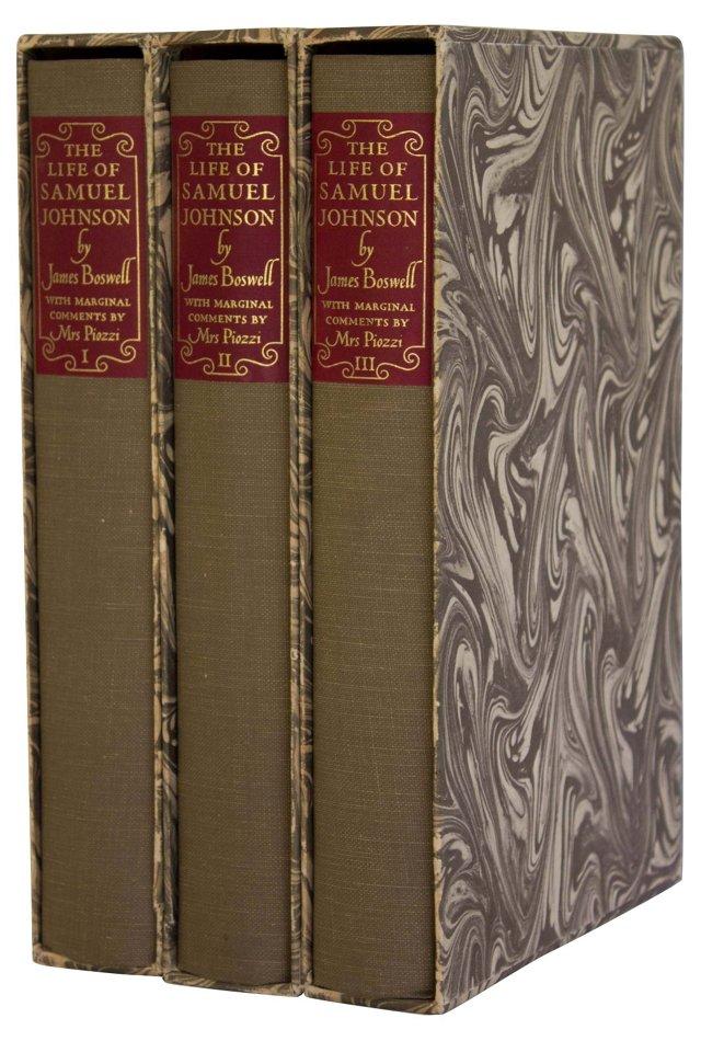 The Life of Samuel Johnson, 3 Vols