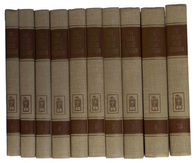 Great Books & Liberal Education, 10 Vols