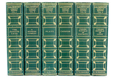 John Galsworthy Compact Edition, S/6