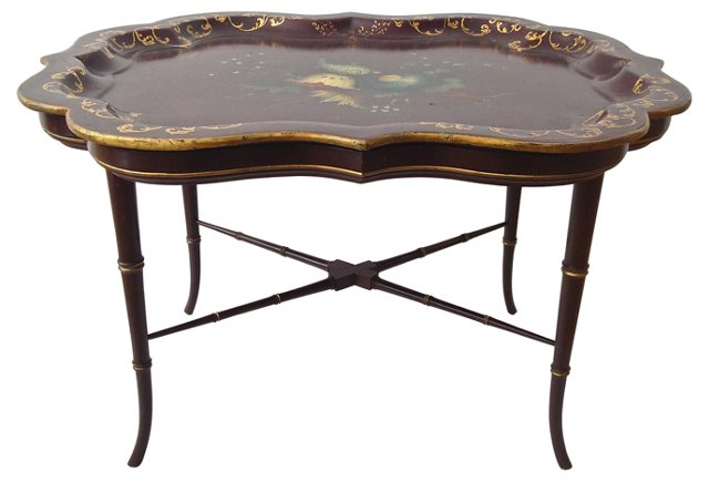 English Tray   Table, C. 1830
