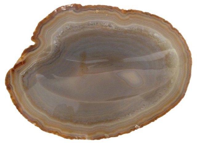 Tan Geode Dish