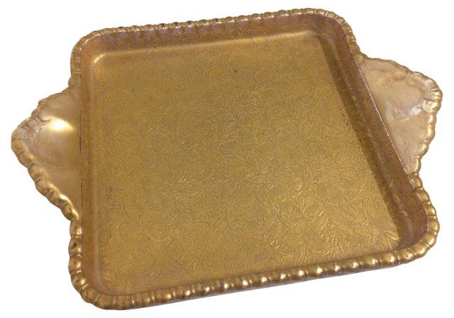 Gold Jewelry Tray