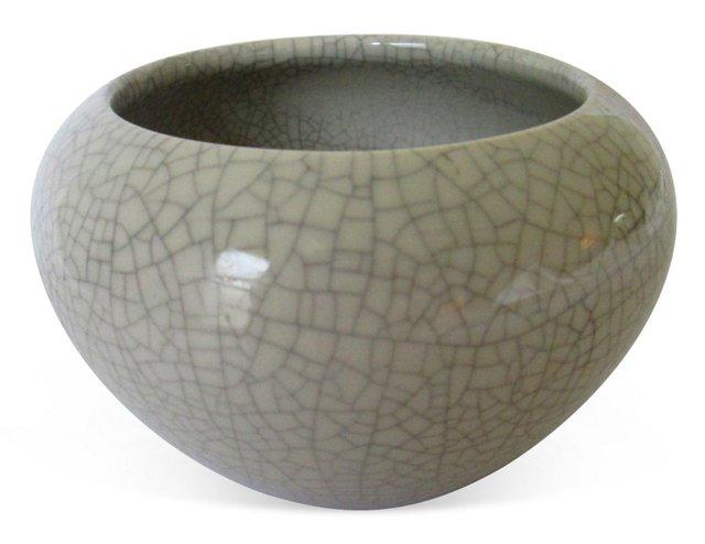 Crackled Porcelain Bowl