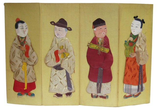 Silk Relief Panels