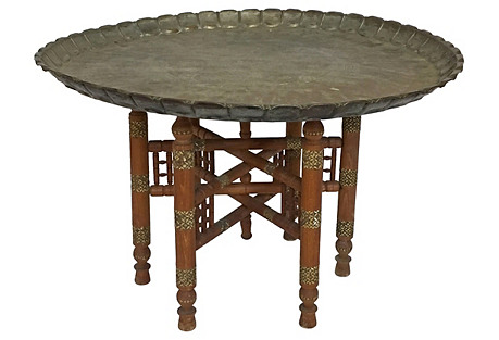 Moroccan-Style Tray Table
