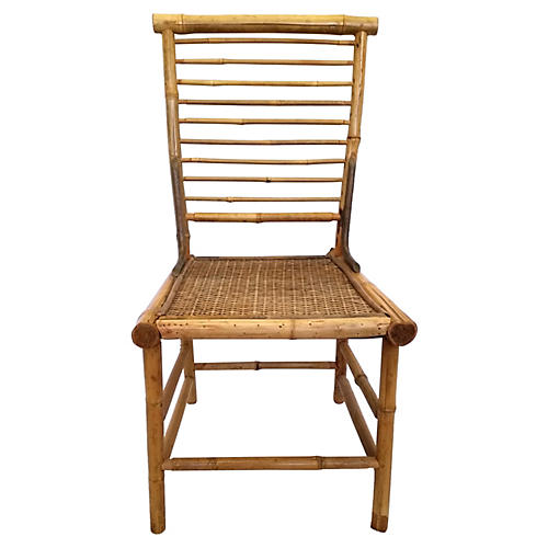 Bamboo Ladderback Side Chair