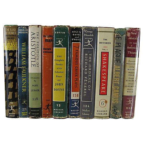 Modern Library Classics, S/10