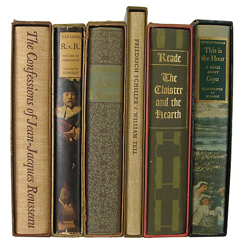 Heritage Press Books, S/6