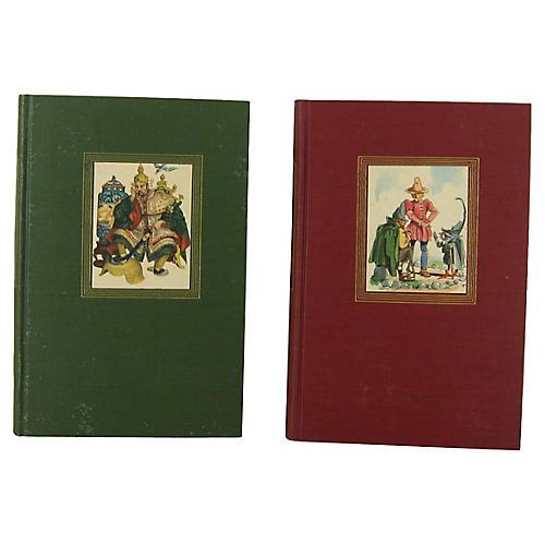 Grimm's and Andersen's Fairy Tales, S/2