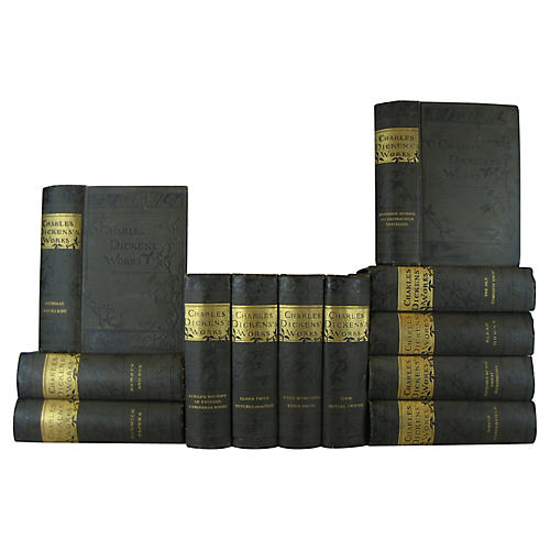 Charles Dickens Classics, S/12