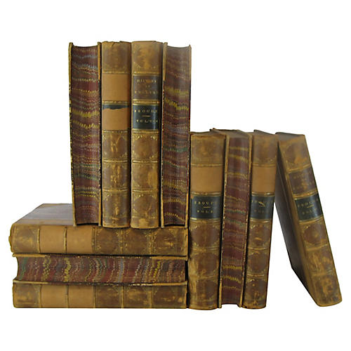 Leather-Bound History of England, S/11
