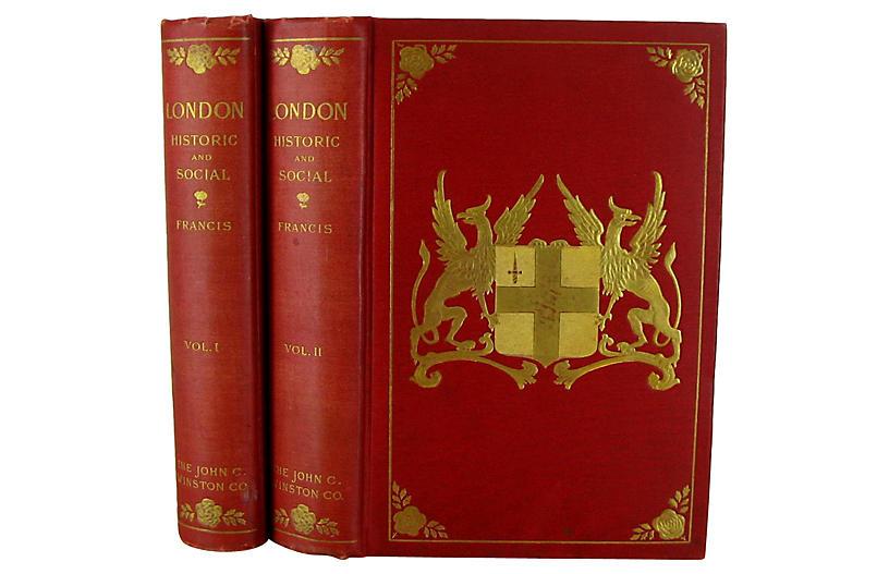 Antique London: Historic & Social, S/2