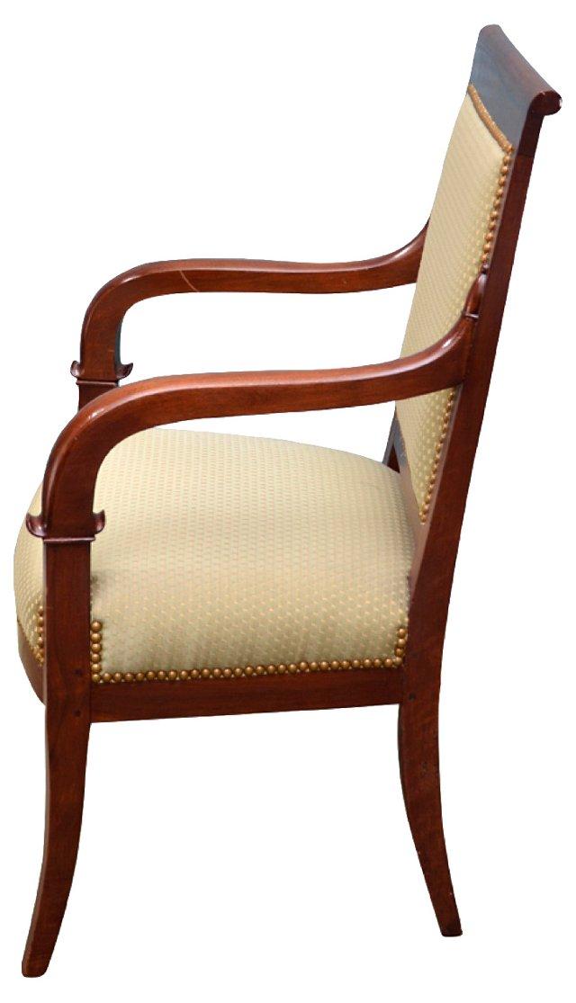 Regency-Style Armchairs, Pair